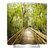 Long Walks Shower Curtain