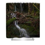 Longexposure Water Shower Curtain