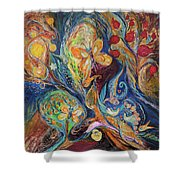 Longing For Chagall Shower Curtain