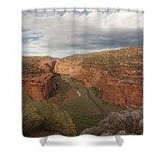 Longs Canyon 0145 Shower Curtain