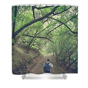Look Around You Shower Curtain