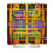 Look Closely The Ancients Walk Among Us Shower Curtain