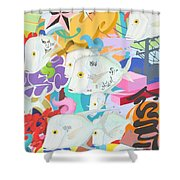 Look Down The Street Shower Curtain
