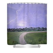 Look For The Silver Lining Shower Curtain