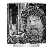 Look From The Past Shower Curtain