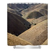 Look Out Mountain Idaho Shower Curtain