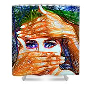 Look Out Of The Box Shower Curtain