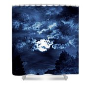 Look With A Pure Heart Shower Curtain