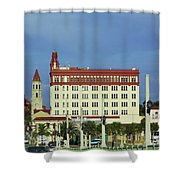 Looking Back At St Augustine Shower Curtain