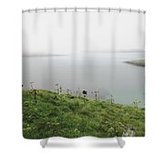Looking Beyond The Sorrow Shower Curtain