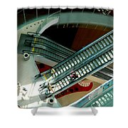 Looking Down - Revel Shower Curtain