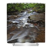 Looking Downstream Shower Curtain