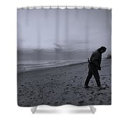 Looking For A Smooth Stone  Shower Curtain
