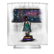 Looking For A Star 1 Shower Curtain