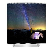 Looking For Others Shower Curtain