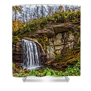 Looking Glass Falls 1 Shower Curtain