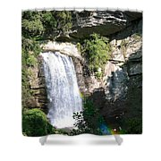 Looking Glass Falls Nc Shower Curtain