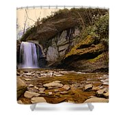 Looking Glass Falls Pisgah National Forest 2 Shower Curtain