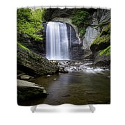 Looking Glass No. 11 Shower Curtain by Ben Shields