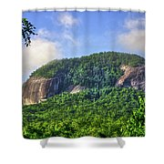 Looking Glass Rock Close Up Shower Curtain