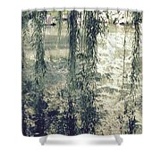 Looking Through The Willow Branches Shower Curtain