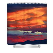 Looking To Boulder Shower Curtain