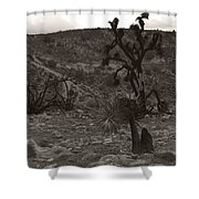 Looking To The Earth Shower Curtain