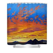 Looking To The Southwest Shower Curtain