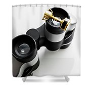 Looking To Win Shower Curtain
