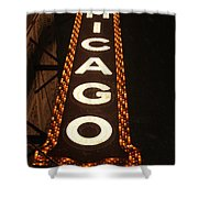 Looking Up Chicago Shower Curtain