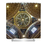 Looking Up In St Peter's Basilica Shower Curtain