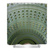 Looking Up In Union Station -- A Westward View Shower Curtain