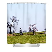 Looking Up The Union Line Shower Curtain