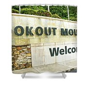 Lookout Mountain Shower Curtain