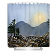 Lookout Rock Shower Curtain