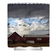 Looming Storm In Sumas Washington Shower Curtain