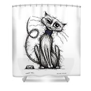 Loopy Tail Shower Curtain
