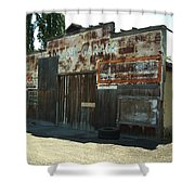 Lope Garage Shower Curtain