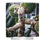 Loquat Man Photo Shower Curtain