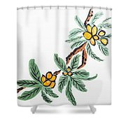 Loquats Shower Curtain