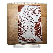 Lord Bless Me 1 - Tile Shower Curtain