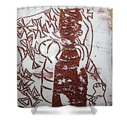 Lord Bless Me 11 - Tile Shower Curtain