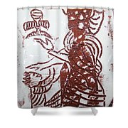 Lord Bless Me 13 - Tile Shower Curtain