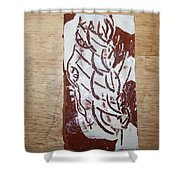 Lord Bless Me 15 - Tile Shower Curtain