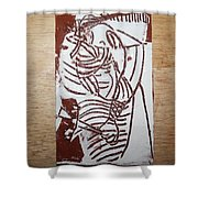 Lord Bless Me 16 - Tile Shower Curtain