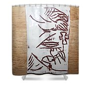 Lord Bless Me 17 - Tile Shower Curtain
