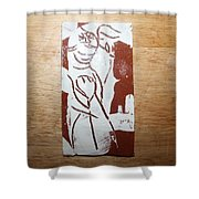 Lord Bless Me 2 - Tile Shower Curtain