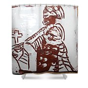 Lord Bless Me 21 - Tile Shower Curtain