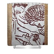Lord Bless Me 22 - Tile Shower Curtain