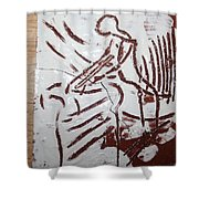 Lord Bless Me 5 - Tile Shower Curtain